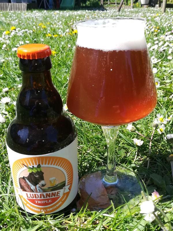 Bière triple Ludanne